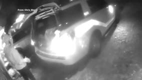 Man caught on camera stealing radio from Levittown fire chief's vehicle