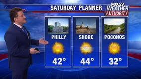 Weather Authority: Cold Saturday night; cloudy and breezy Sunday