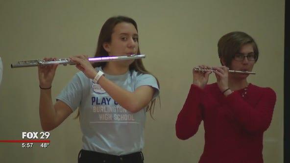 Burlington City High School marching band impresses by winning 3 national championships