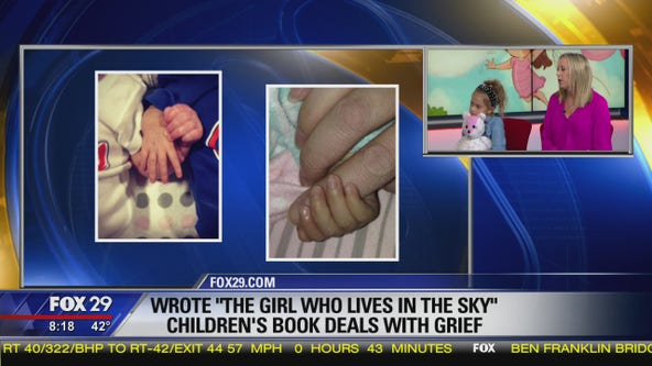 Mother writes children's book to deal with grief after infant daughter's death