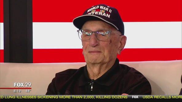 Veterans Day: WWII Veteran Albert Booth celebrates 100th birthday