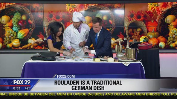 Thomas Drayton brings German tradition with 'Rouladen' recipe for Thanksgiving