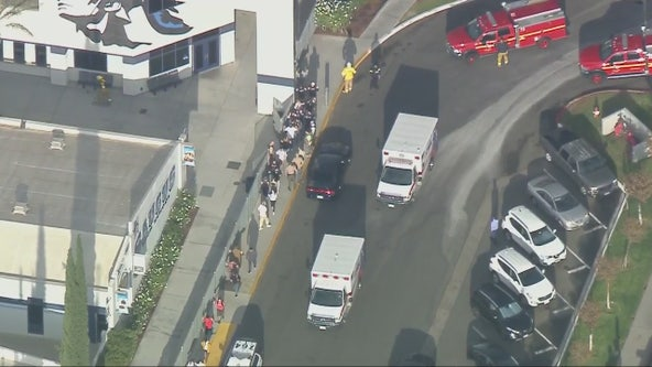 7 victims in reported active shooter situation at Saugus High School in Santa Clarita