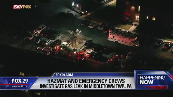 Officials urge Delaware County residents to stay indoors due to gas leak