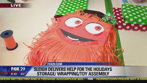 Jenn stops by Sleigh for wrapping and toy assembly tips