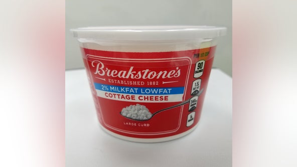 Presence of plastic and metal in Breakstone's cottage cheese leads to voluntary recall