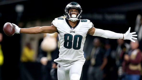 Eagles add familiar face, Matthews, to help receiving corps
