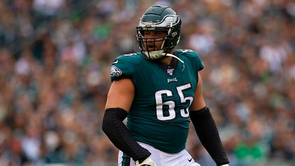 Eagles' Lane Johnson selected for third consecutive Pro Bowl