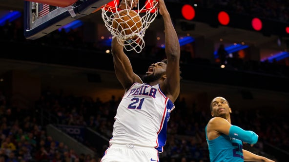 Sixers' Joel Embiid named starter for NBA All-Star Game