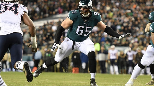 Eagles won't have Lane Johnson against Seahawks