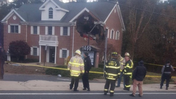2 men dead after Porsche crashes into second floor of Toms River building