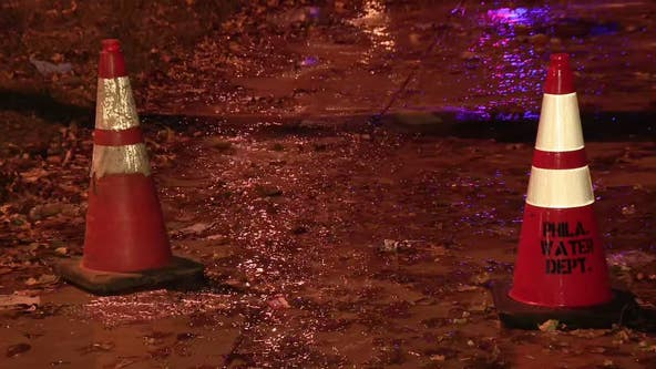 12-inch water main break shuts down portion of Roosevelt Boulevard
