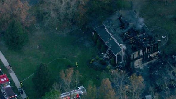 Blaze destroys volunteer firefighter's home in Mullica Township