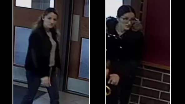 Police search for women accused of stealing from Evesham Township church