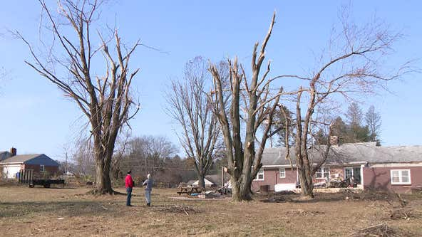 Delaware County residents continue to rebuild after EF2 tornado
