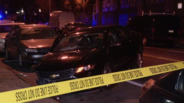 Man killed, woman injured after being shot inside car in Germantown