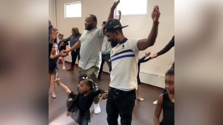 men and daughters ballet
