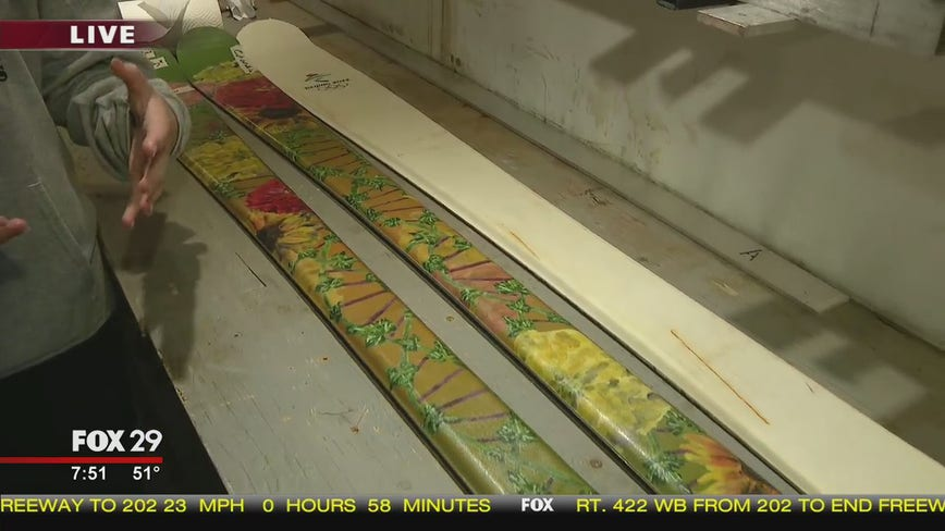Student run ski company, Panther Boards, gets ready for season