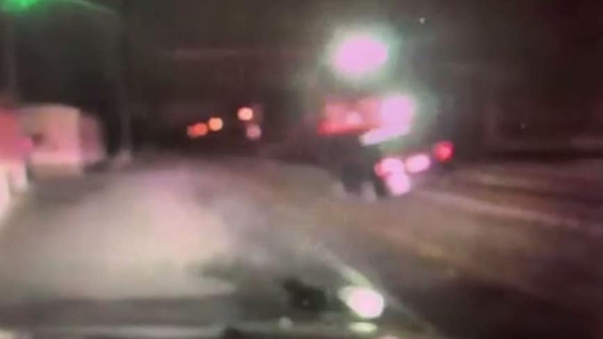 Police: Officers save drunk driver moments before train collides with car on tracks in West Windsor
