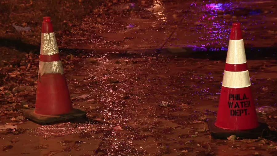 12-inch water main break shuts down portion of Roosevelt Boulevard
