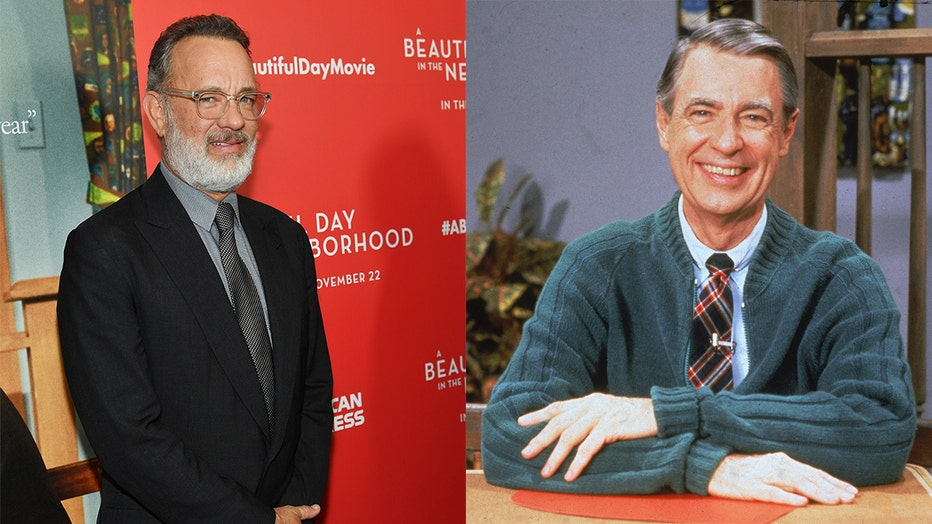 Tom Hanks Star Of A Beautiful Day In The Neighborhood Finds Out He S Related To Mr Rogers