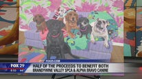 A painting of your dog could be featured at the new White Dog Cafe in Glen Mills
