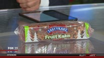 Mike Jerrick asks viewers to find him a good fruitcake