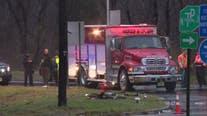 2 people killed in early morning Burlington County crash