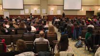 Rowan University holds meeting with students after recent suicides
