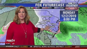 Weather Authority: Latest on snow expected to impact area