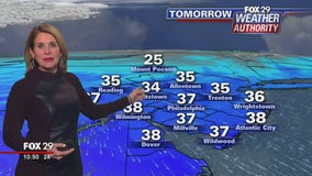 Weather Authority: Cold snap follows weekend chill