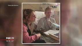 Man in hospital rocks out to country song with help from daughter
