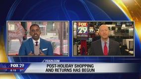 Post-holiday shopping season has begun