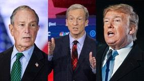 Billionaires spending millions of own wealth running for president