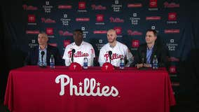 Gregorius, Wheeler excited for new start with Phillies