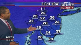 Weather Authority: Cold, sunny conditions continue Satuday