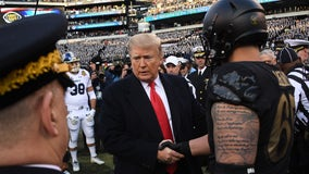 Trump to attend Army-Navy football game in Philadelphia Saturday