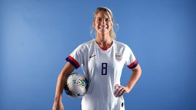 Julie Ertz named US Soccer women's player of the year
