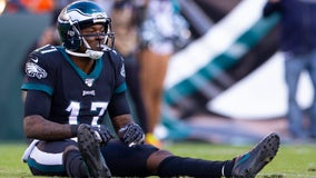 Eagles wide receiver Alshon Jeffery out for season with foot injury