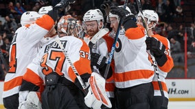 Couturier scores shootout winner, Flyers beat Senators 5-4
