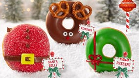 Krispy Kreme debuts Holiday Doughnut Collection featuring 'Santa' and 'Reindeer' treats