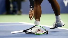 Serena Williams' smashed US Open racket sells for more than $20K