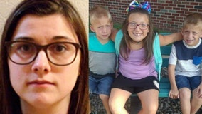 Indiana woman gets 4 years in prison for killing 3 kids in school bus stop crash
