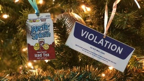 'Jawnaments' like a PPA ticket and Arctic Splash container bring Philly vibes to your Christmas tree