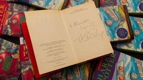 Signed 'Harry Potter' book bought for a penny to be auctioned off for as much as $2,700