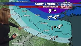Weather Authority: Storm expected to bring snow to parts of the area