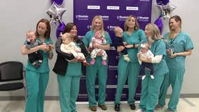 Baby boom happening among nurses at Einstein Medical Center
