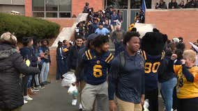 Pep rally held to send-off Cheltenham Panthers ahead of state championship game