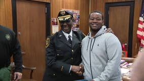 Teen honored for comforting young girl during Pleasantville-Camden football game shooting