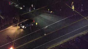 Police: Pedestrian fatally struck by vehicle in Burlington County